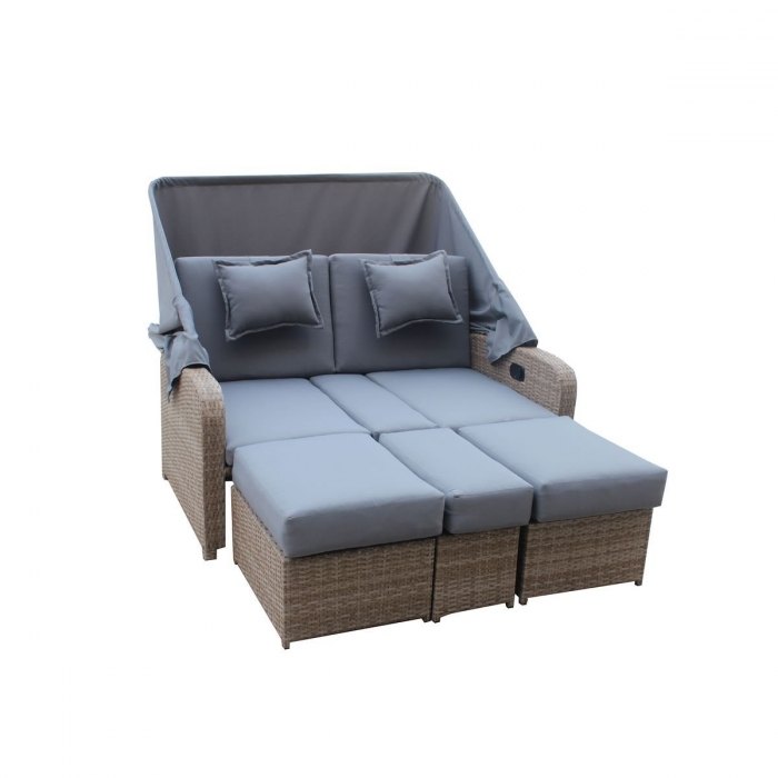 gartensofa mit dach yv65 hitoiro. Black Bedroom Furniture Sets. Home Design Ideas
