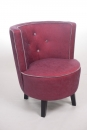 Mondäner Hollywood Chair in Pink/Flieder